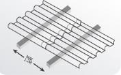 FRP采光瓦安装方法檩条图