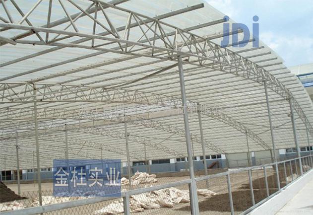 FRP采光瓦在化肥厂应用