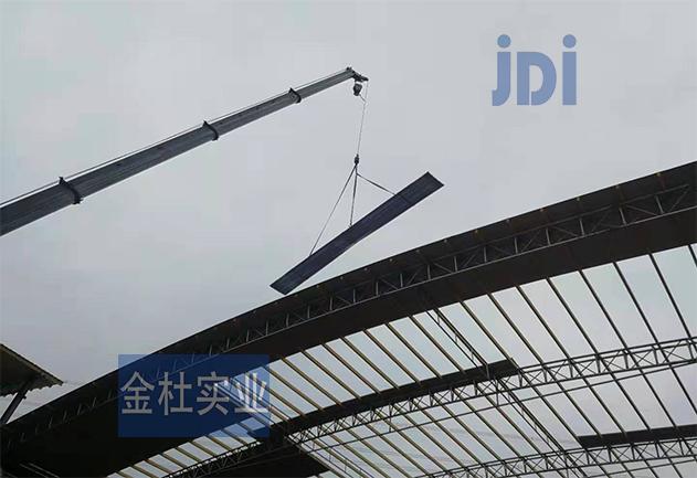广东湛江厂房采光板材图片