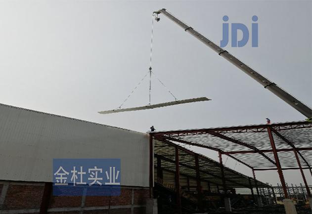 广东江门厂房选用透明采光瓦
